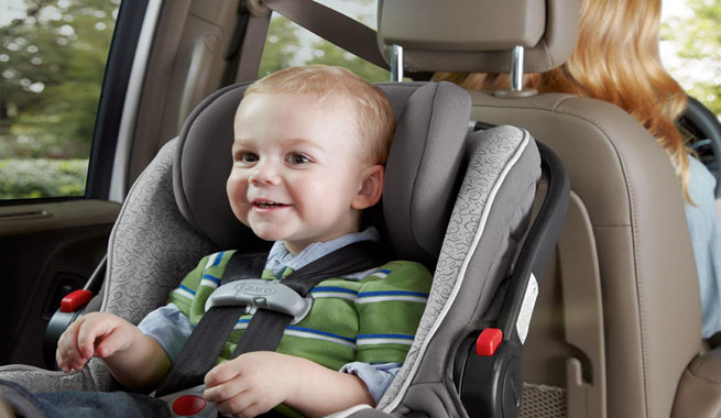 Nueva normativa para las sillas de coche para niños.