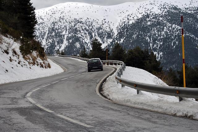 Conducir con temporal de nieve