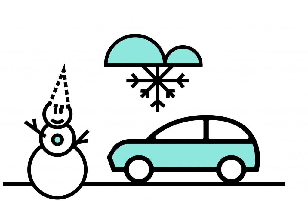 Direct Seguros - Cómo conducir con nieve