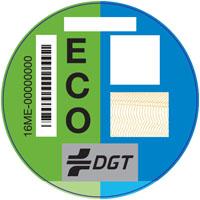 pegatinas dgt - etiqueta eco