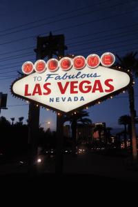 Ruta motera costa oeste Estados Unidos Las Vegas