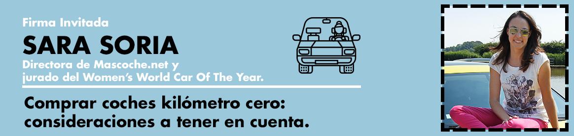 Sara Soria: comprar coches de kilómetro cero y coches de segunda mano