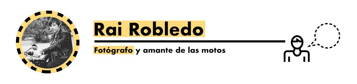 Rai Robledo, accesorios para motos de seguridad