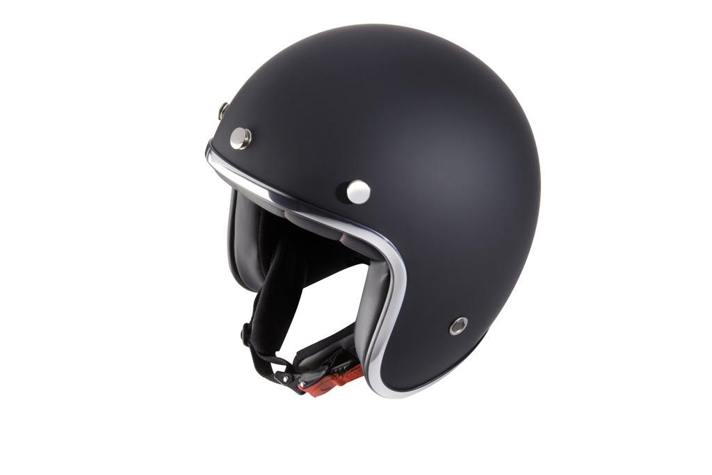 Casco jet, accesorios de seguridad para motos