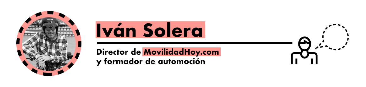 Iván Solera, director movilidadhoy.com