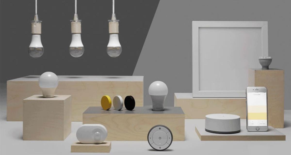 iluminación inteligente con control domótico