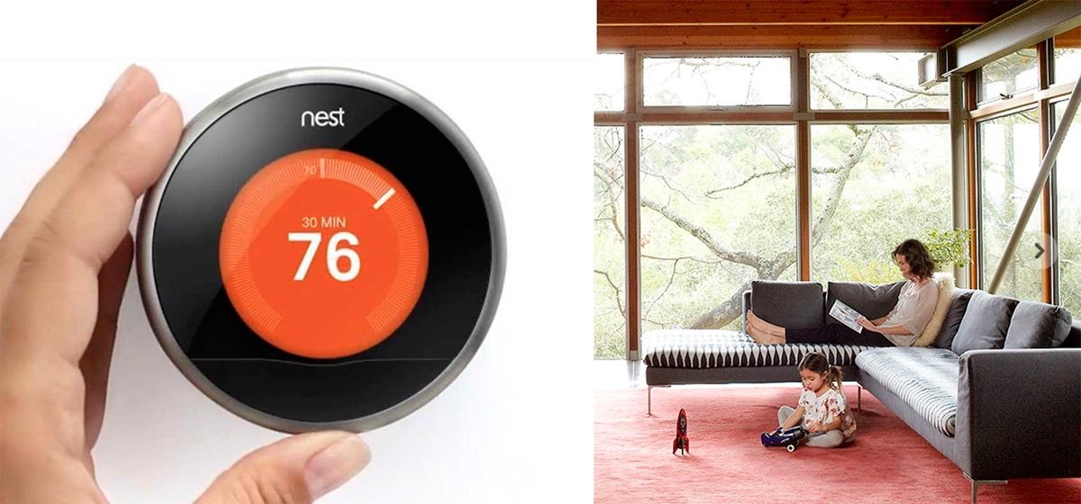 hogar inteligente con control domótico