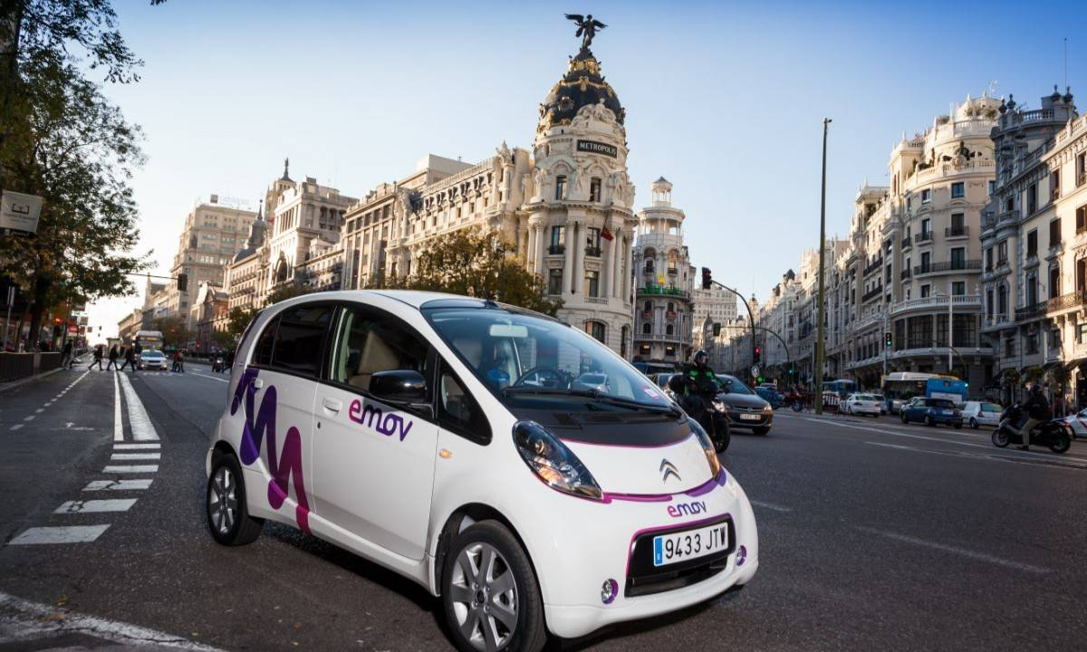 carsharing Madrid: alquiler de coches