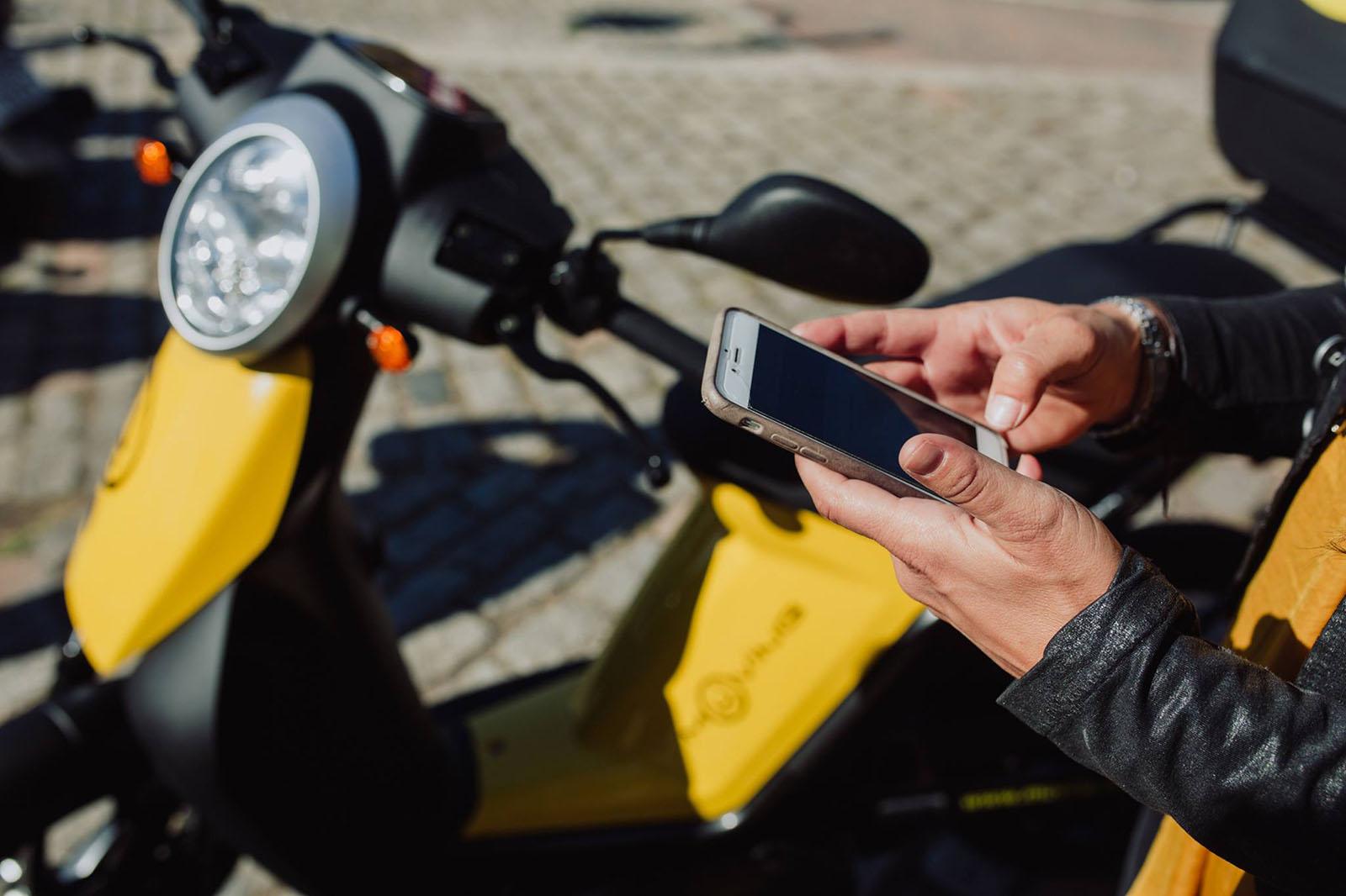 alquiler de motos por horas en madrid