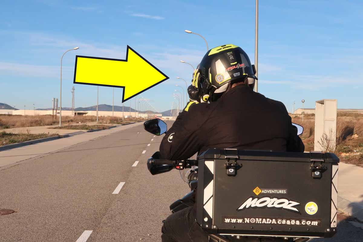 Señales de motociclistas