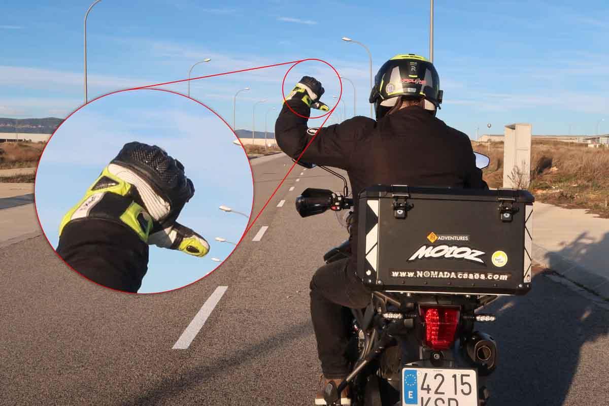 Señales en moto