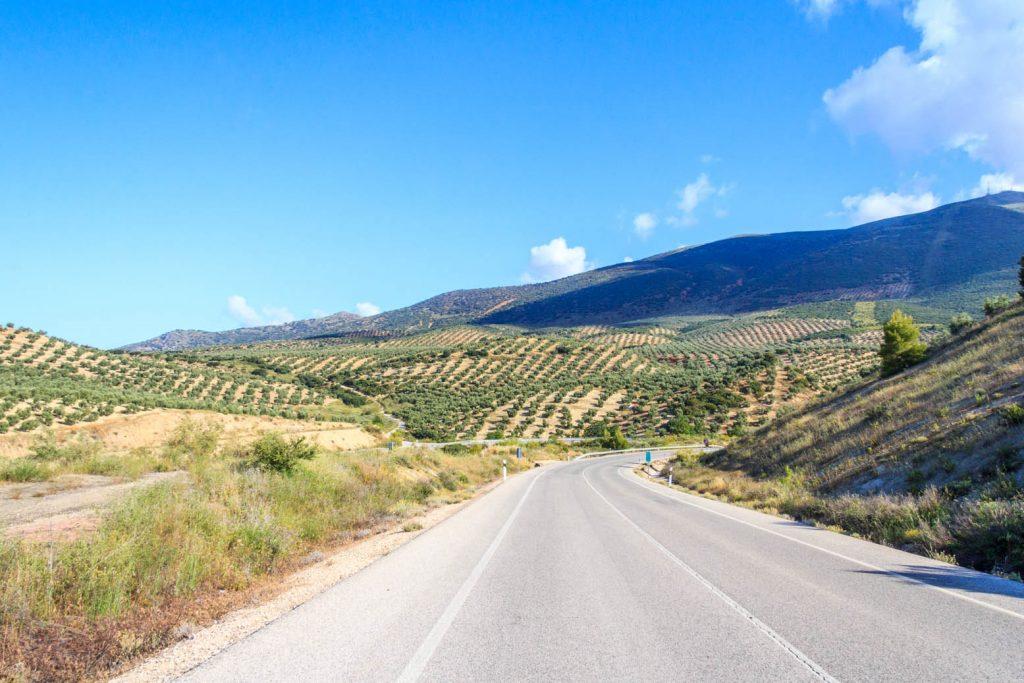 Ruta en coche por Jaén