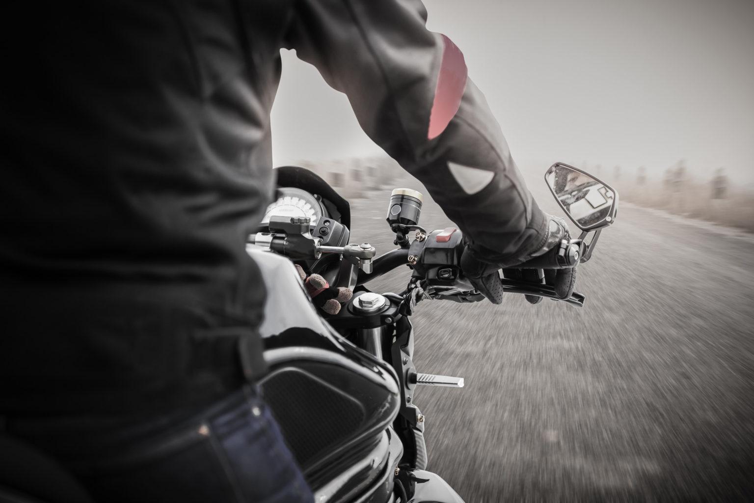 Conducir moto en invierno